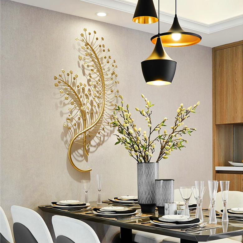 3D Branch Shape Hallway Lobby Display Room Dinning Room Wall Decoration