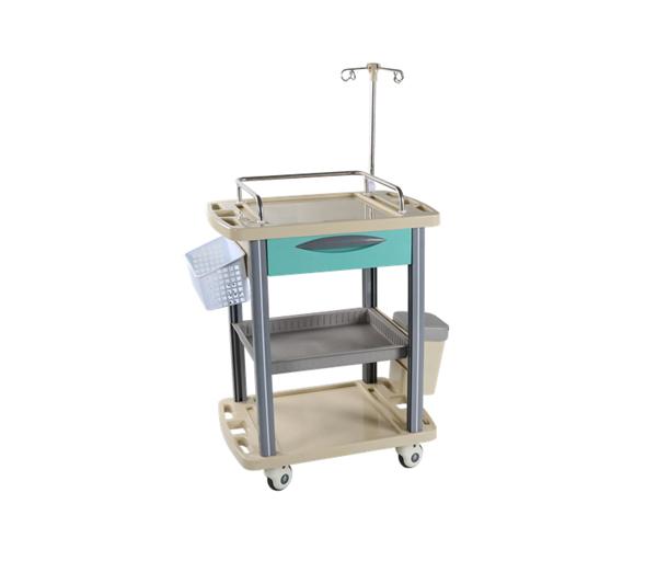 Тележка для больниц с колесами, тележка для медицинских работников