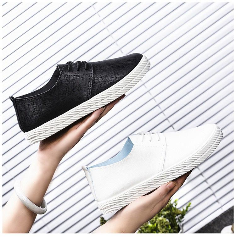 Cina a buon mercato donna mocassini in pelle sintetica morbida dell'unità di elaborazione scarpe