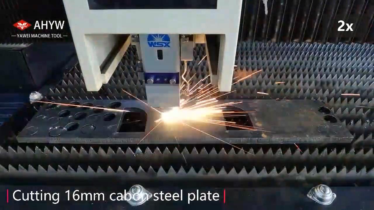 Metal Plate Fiber Laser Cutting Machine 2000W