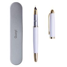 Guoyi A200 Роскошная чернильная авторучка 0,38 мм металлическая Высококачественная деловая офисная Подарочная авторучка с фирменным логотипом(Китай)