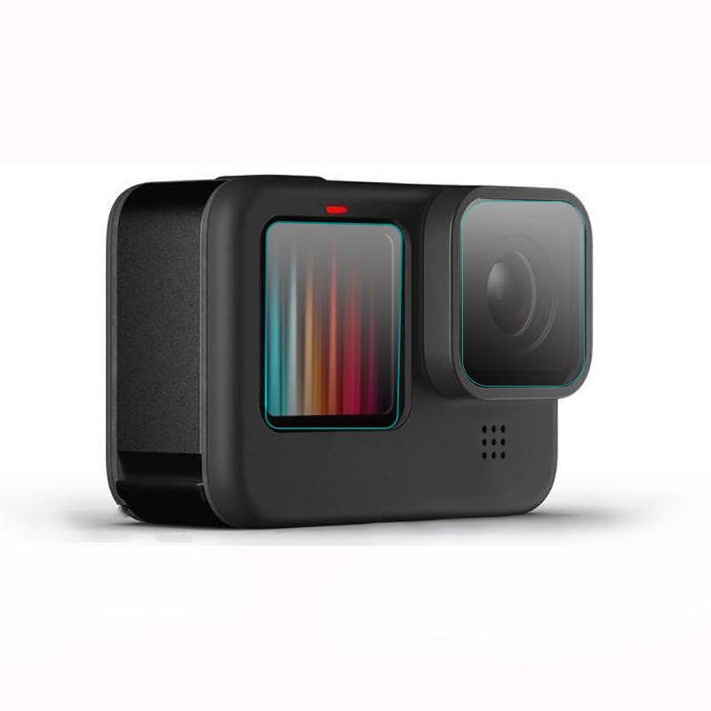 Stok Tersedia 2020 Persediaan Pabrik Pelindung Film Lensa Bening HD untuk GoPro 9 Aksesori Baru