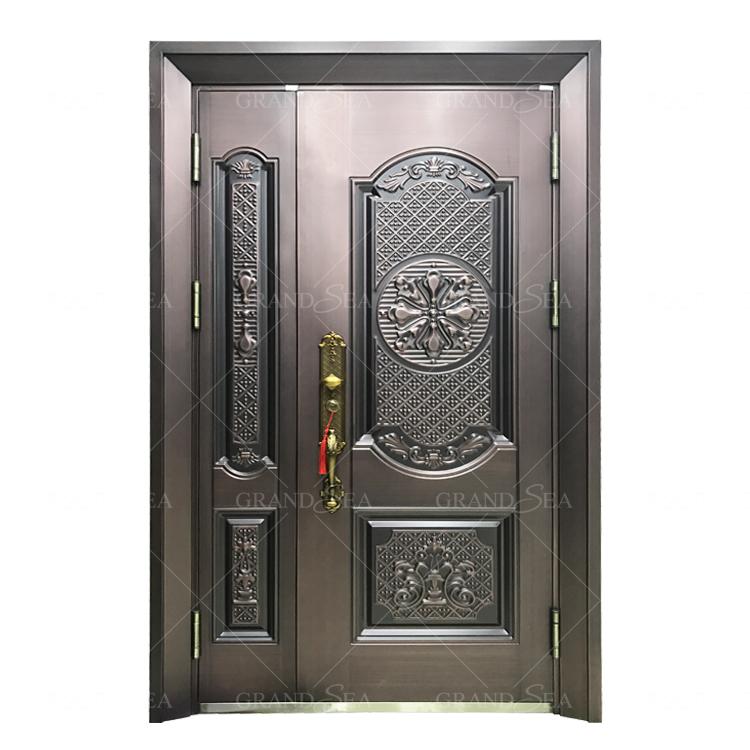 Sicurezza appartamento cancello principale design in acciaio porta in acciaio