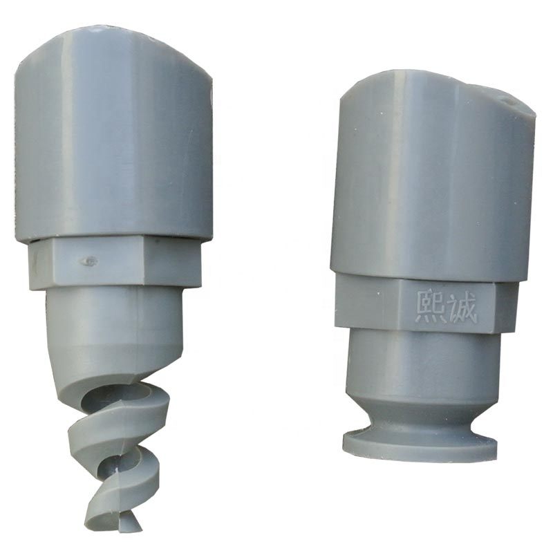 Air and water adopted cemented spray spiral <strong>nozzle</strong> with long life and low price