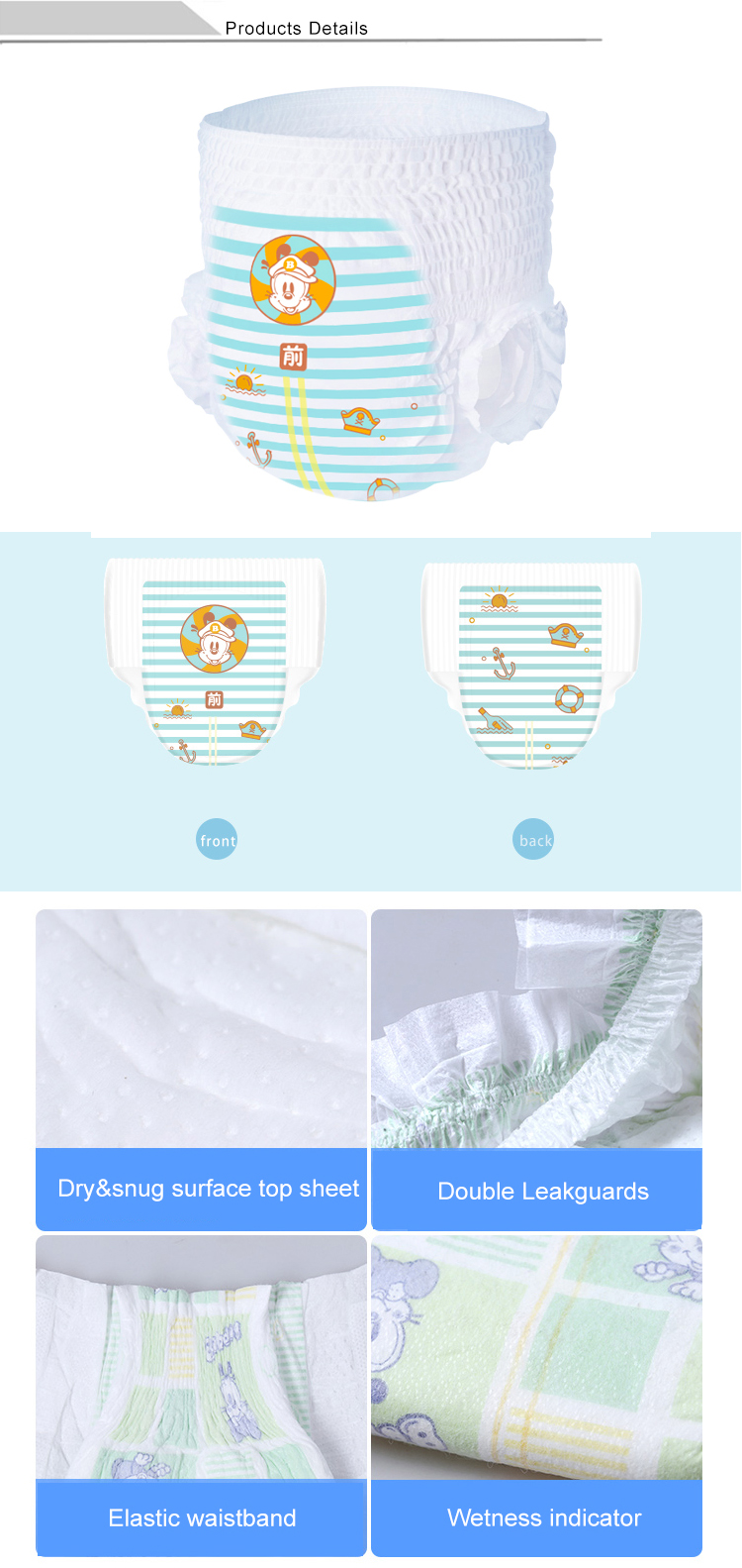 Couches machine ligne couches ligne de machine à petite échelle