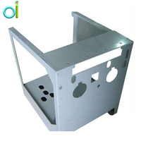 Customized CNC aluminum stamping chassis shell process sheet metal laser cutting machining service