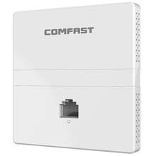Terbaru COMFAST Wireless Access Point E538AC Inwall 1200Mbps Access Point dengan Gigabit LAN Port