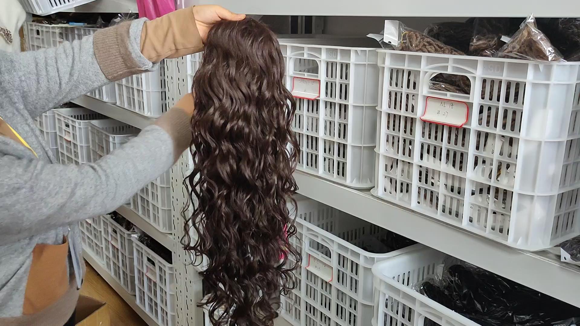 Kiểu Tóc Đuôi Ngựa Lượn Sóng Quăn Dây Kéo Kinky Bao Bì Bọc Xung Quanh Cheveux Afro Chuỗi Trận Hòa Ngay Lập Tức Claw Ponytail Phần Mở Rộng Tóc