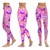 Brazilian Slimming Hot Selling Wholesale Customized Screenprint Regular And Plus Size Milk Silk Printing Leggings