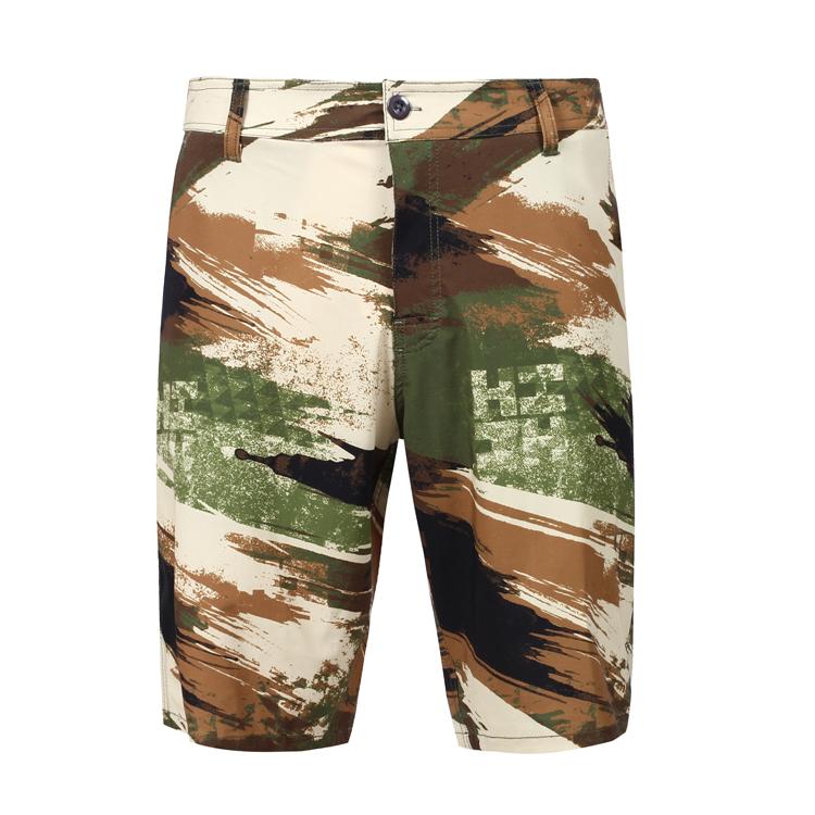new arrival custom design stretch fabric four-pocket mens hybrid swim shorts