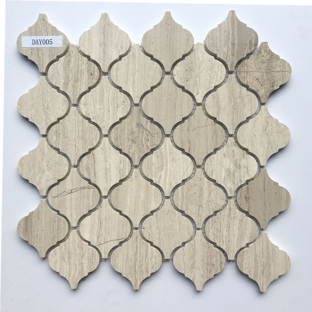 Hot Selling grey wood Natural Stone Mosaic Manufacture from Foshan China