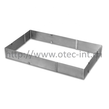 Stainless steel SUS301 cake mould bake frame for kithchen