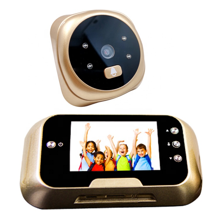 1.5mp ประตู viewer 3 นิ้ว eye digital doorbell wireless camera viewer