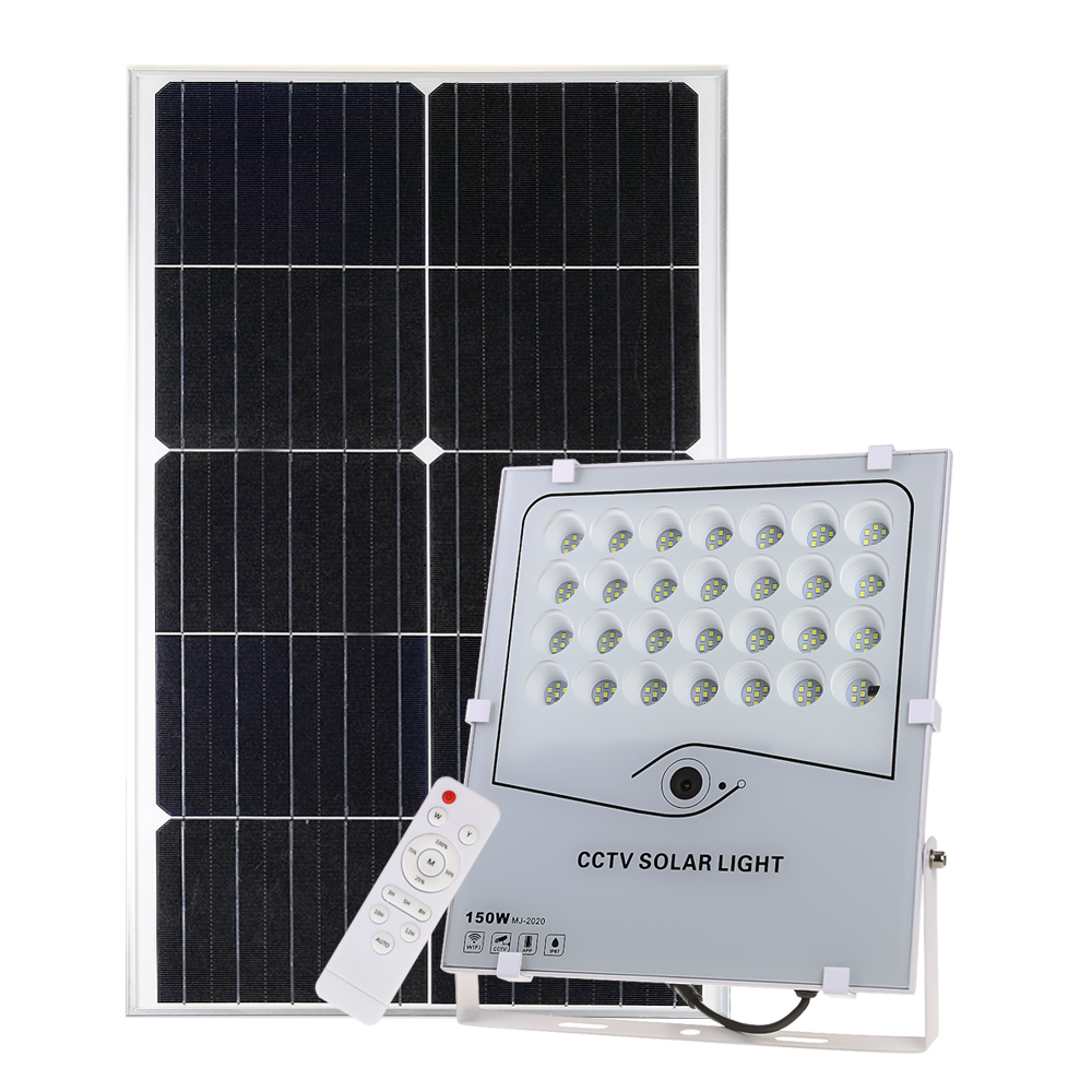 Floodlight Security Camera 150w Led Smd Solar Lights Outdoor Ip 65 <strong>Flood</strong>