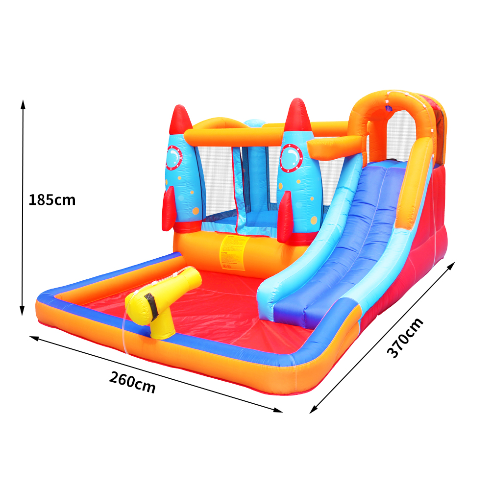 Factory Hot Sale Inflatable Water Slide Jumping Bouncy Castle With Pool