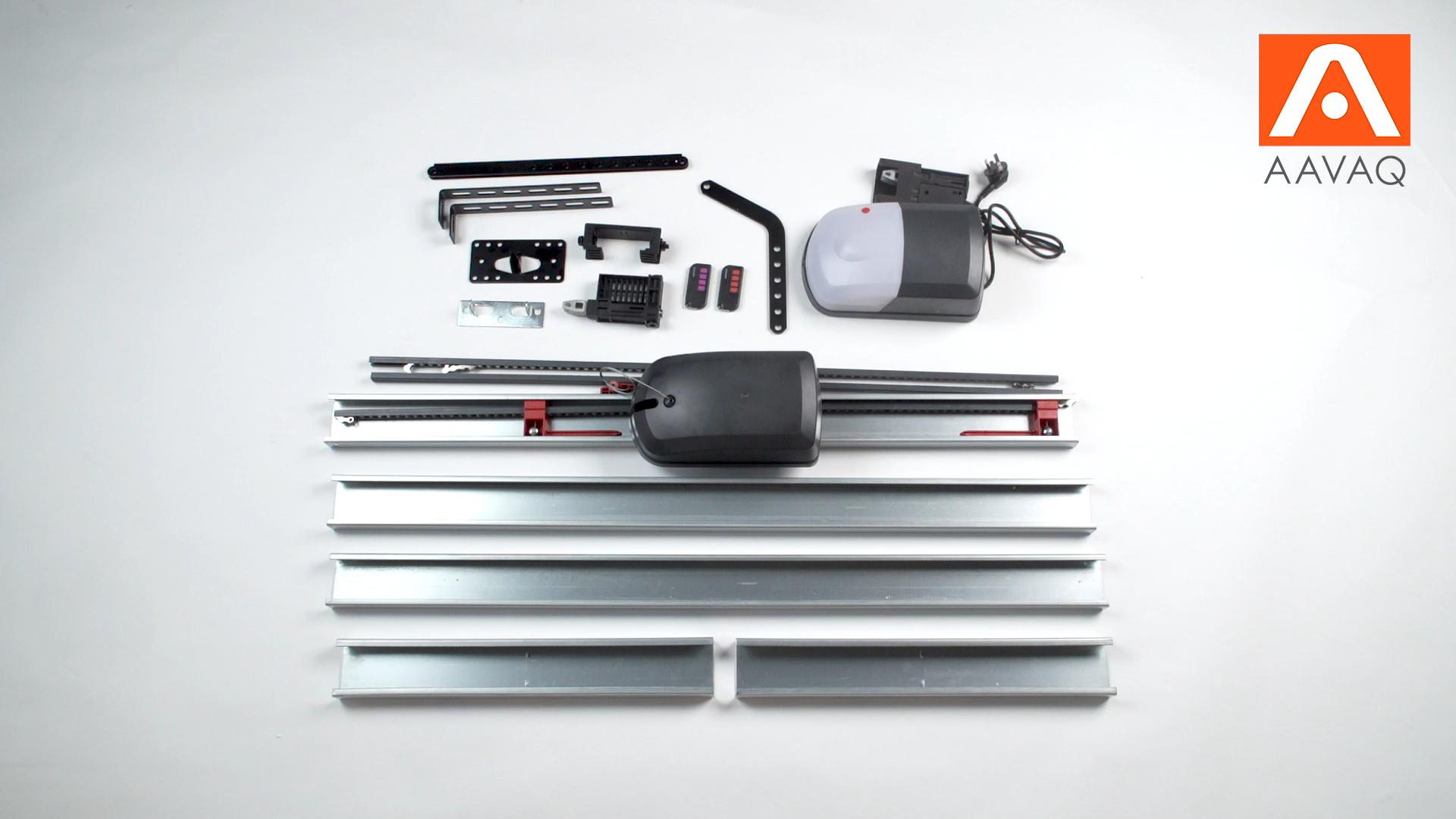 AAVAQ S12/600 600N Battery Backup WiFi Garage Door Opener DC Motor Automatic Door Operator