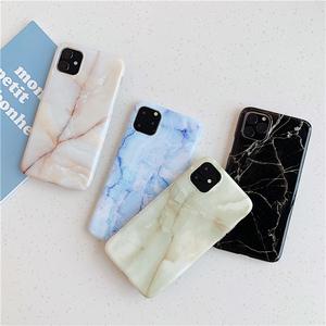 Granite painted tpu  case for iphone 11 11Pro Max XS Max XR  Marble case For Iphone 8 7 Plus X 6 6S Protective Fundas Capa