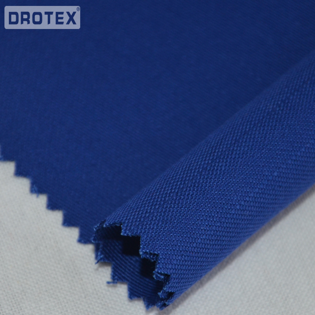 100%<strong>Cotton</strong> 240gsm <strong>Interlock</strong> <strong>Knitted</strong> Fireproof Fabric for Sweater