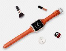 Ремешок для часов JNASIN, из натуральной кожи, 42 мм, 38 мм, 40 мм, 44 мм(Китай)