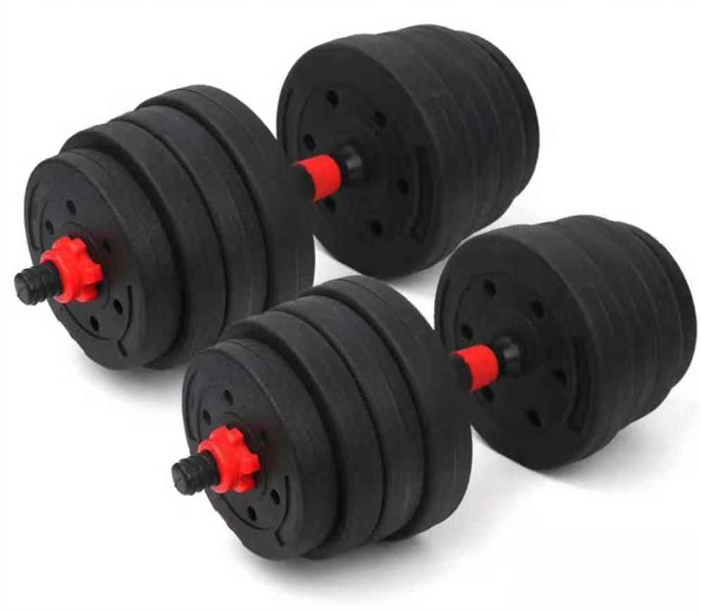 <strong>Weight</strong> Lifting 30kg Exercise Adjustable Dumbbell For Bodybuilding Equipments