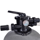 Portable water filtration sand filter and pool pump unit