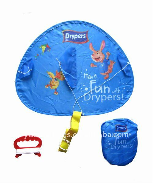 Foldable mini kite , flying disc kite