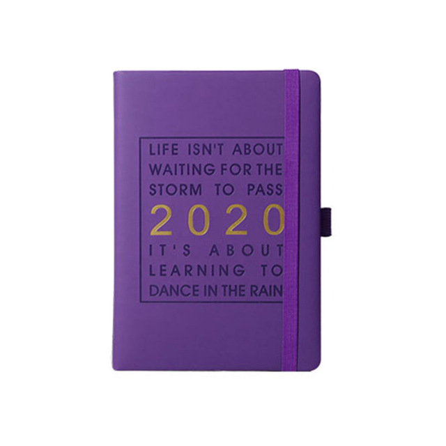 Bullet Journal блокнот кожаный блокнот еженедельник ежедневник 2020 Ежедневник A5 канцелярские bts kpop papelaria(Китай)