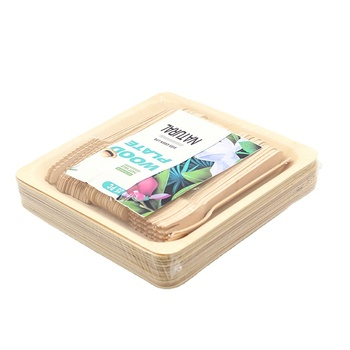 Party/Restaurant/Home/Romantic Disposable Areca Palm Leaf Wooden Plate
