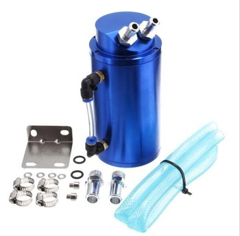 oil catch can, universal racing cars , modified vehicles, mini internal air filter Aluminum fuel tank,