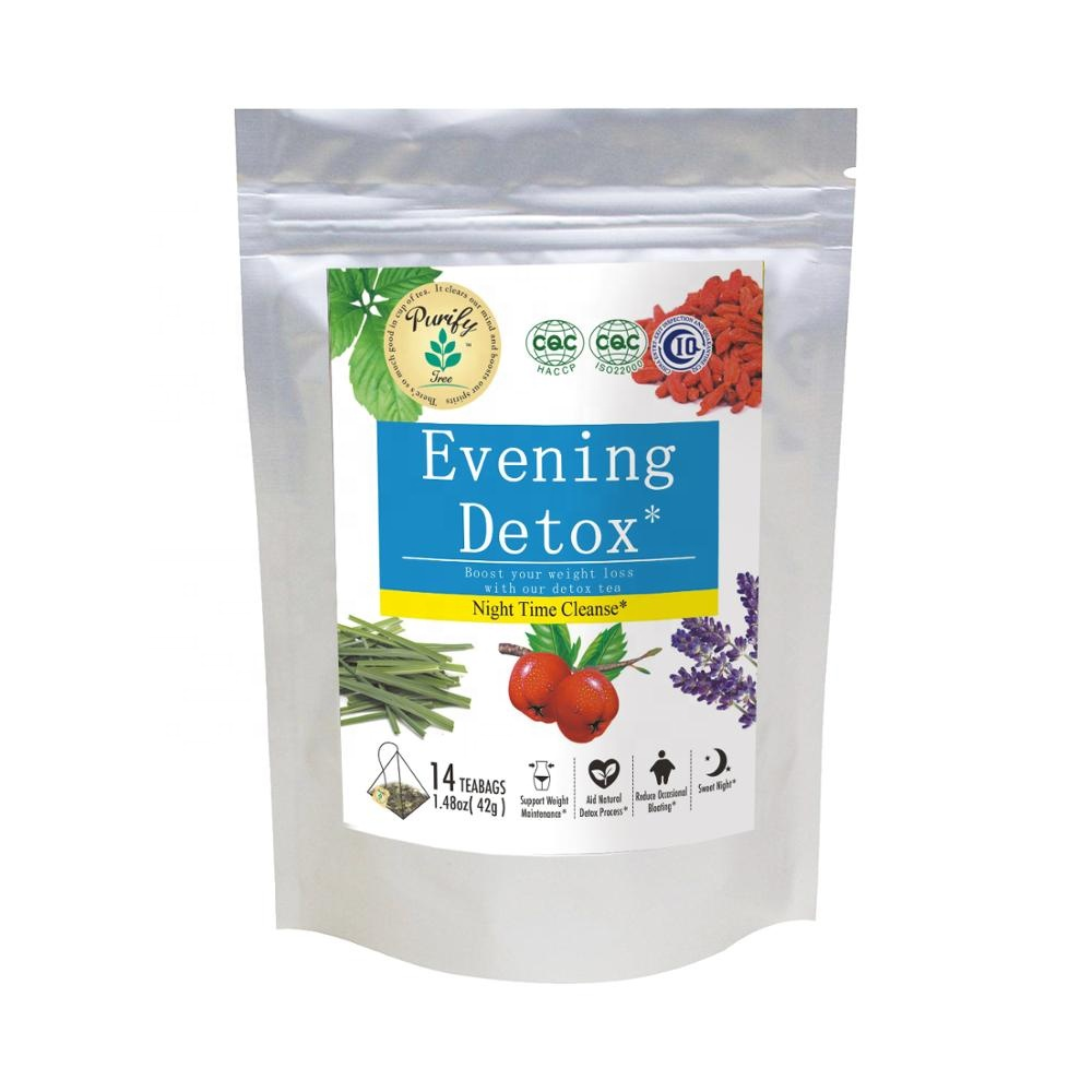 Organic 14 day evening detox tea - 4uTea   4uTea.com
