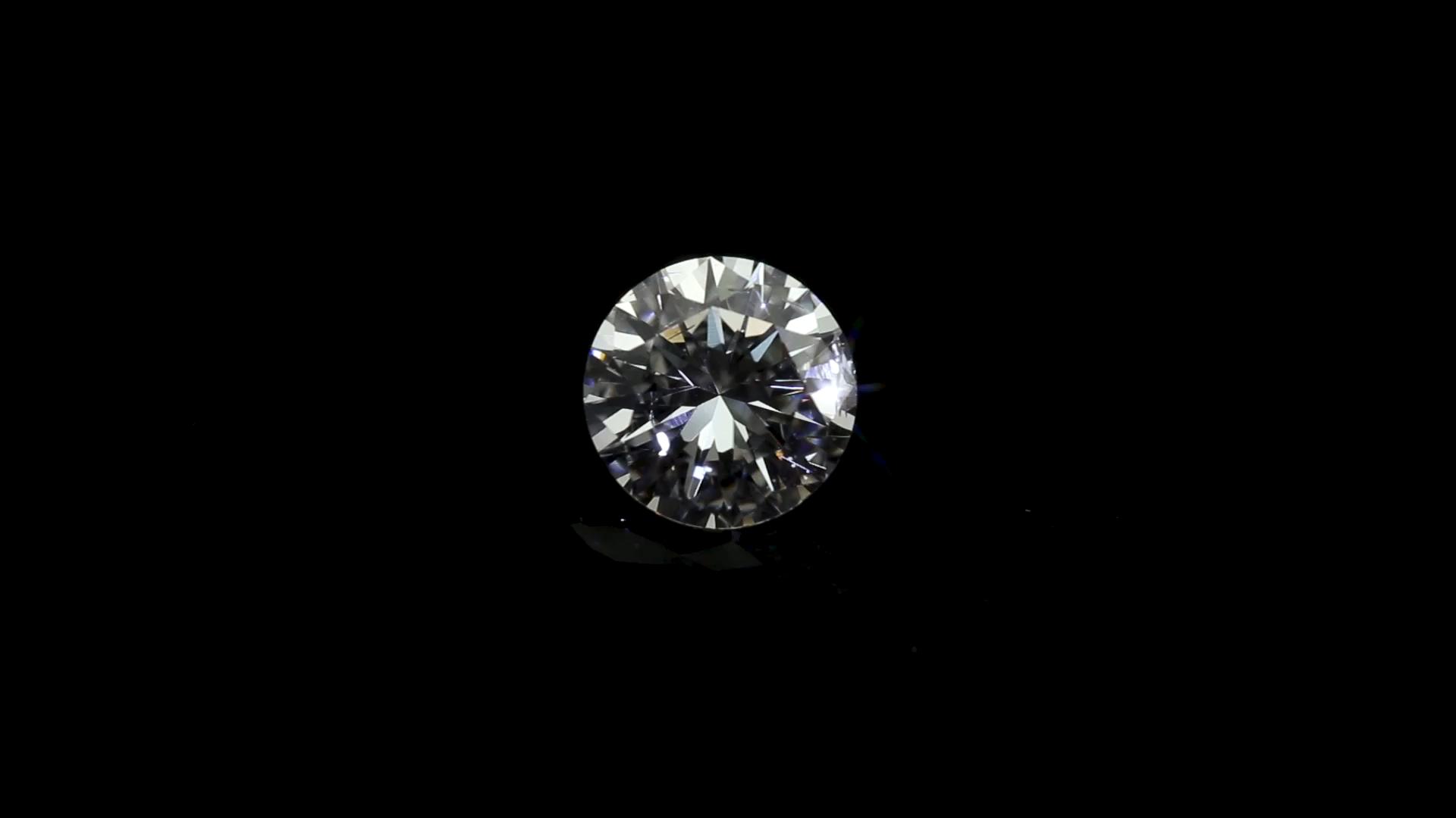 Loose 1.39carat D VS2 3EX good quality synthetic HPHT CVD lab grown diamond
