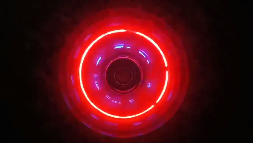 2020 Amazon New Design Anti Stress Spinning Top Gyroscope Toy Electric Fidget Spinner With LED Light