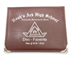 Custom leather degree certificate folder A4 diploma holder or cover
