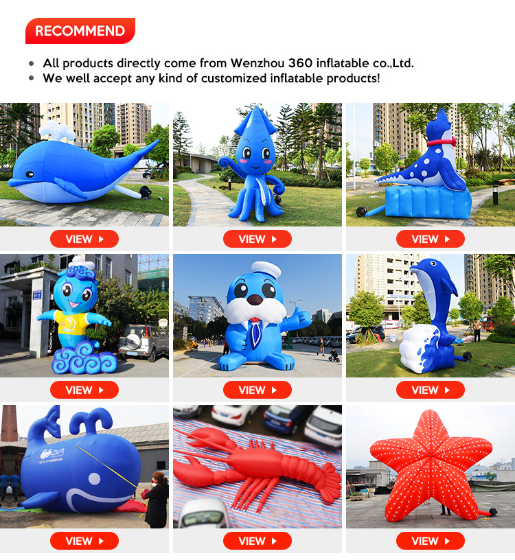 advertising inflatable pvc dancing dolphin for decoration animal toy inflatable statue model custom inflatable dolphin for sale