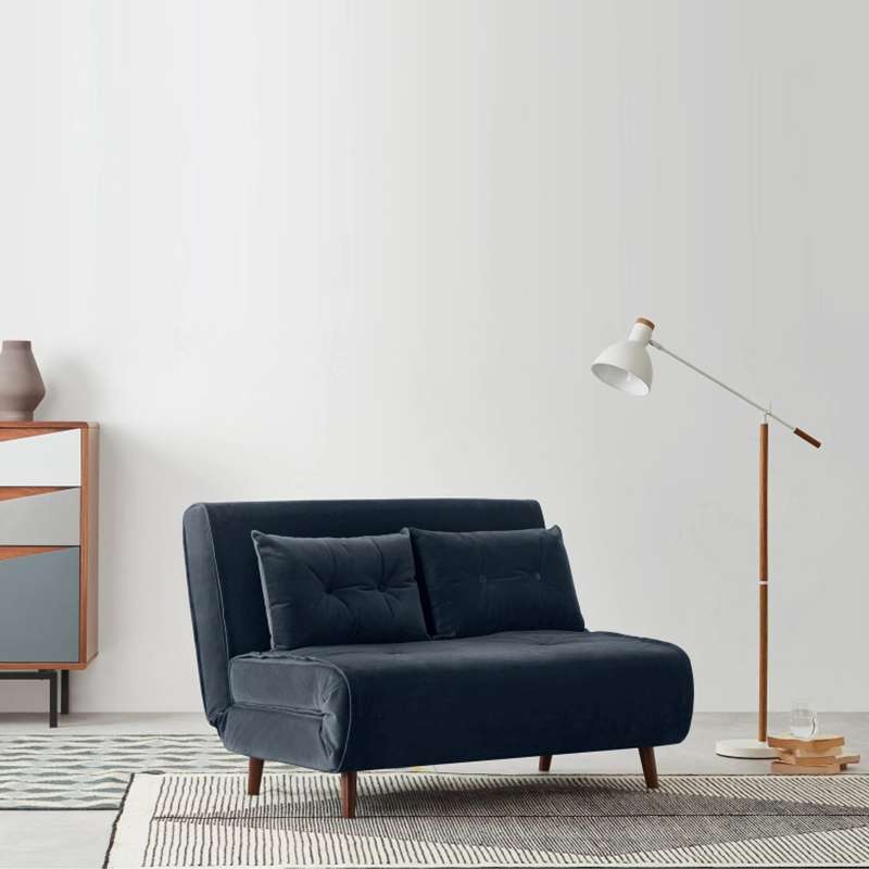 Style européen nouveau Design tissu pas cher canapé-lit pliant canapé-lit salon 3 places canapé-lit