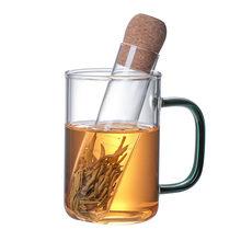 Чашка для чайной воды прозрачный чай герметичный термостойкий стеклянный чайник Чайный фильтр для чашки чая бытовые питьевые Аксессуары Н...(Китай)