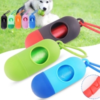 Durable Pet Garbage Bag Box Bullet Type Environment Protection Pet Poop Dispenser