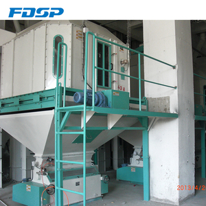 Animal Feed Pellet Processing line/Complete Chicken Feed Plant Project
