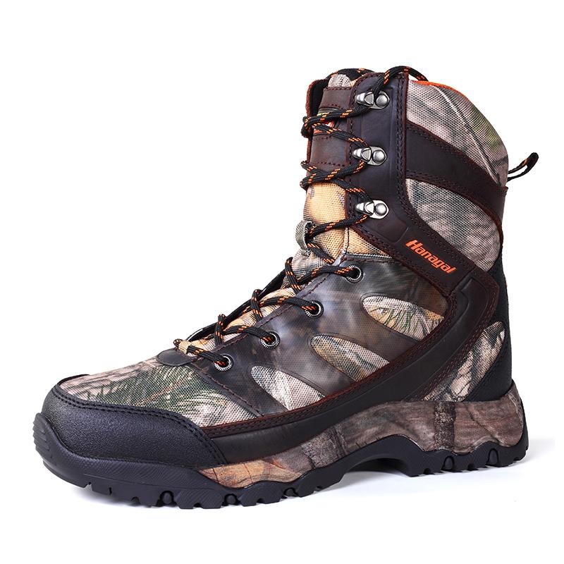 Waterproof 3DX TEC woold jungle hunt equipment boots shoes