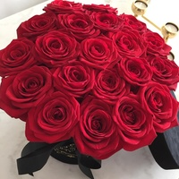 wholesale long lasting luxury rose preserved rose in flower box