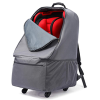 Deluxe Baby Car Seat Travel Bag with Wheel