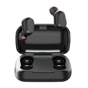 TOPK 5.0 TWS True Wireless Earphone Earbuds Stereo Headphone Handsfree in Ear Phone Gaming Headset