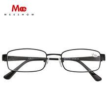2020 металлические очки для чтения Gafas De Lectura Leesbril европейский размер очки пресбиопии металлическая оправа с диоптрием + 1,0 до + 4,0(Китай)