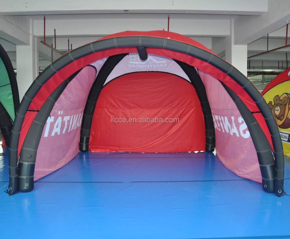 8x8 large size exhibition event trade show customized inflatable tent,inflatable gazebo tent//