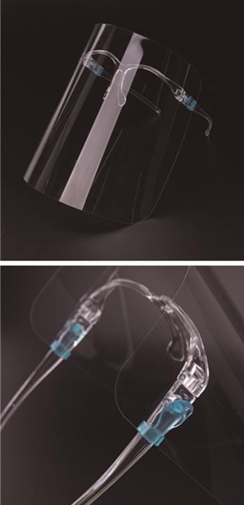 レストラン洗えるペット通気性クリア防曇口鼻保護プラスチックファッション顔透明可視口カバー