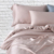 Silk smooth touch bamboo fiber Bm 60*40 dyeing bedding set processing custom