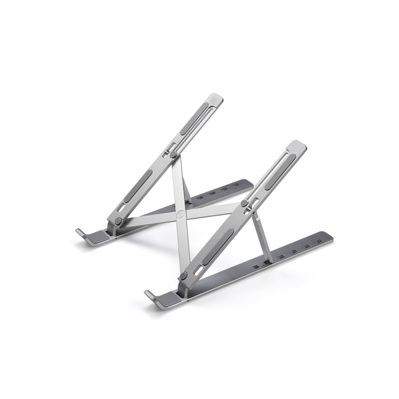 Portable Metal Aluminum Alloy 6 Angles Adjustable Foldable <strong>laptop</strong> <strong>table</strong> stand adjustable