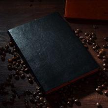Офисный бизнес тетрадь журнал книга коричневый/черный A5/B5/A7 для детей Подарки(Китай)