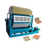 Henan fuyuan small business waste paper recycling egg carton box egg tray making machine price