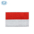 Bordir Bendera Indonesia Patch Kecil Bendera Patch
